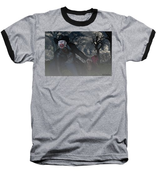 Vampire Cowboy Baseball T-Shirt