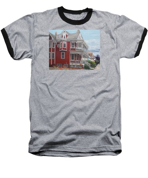 Victorian Afternoon Cape May Baseball T-Shirt