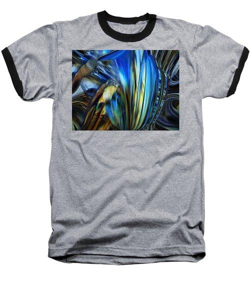 Baseball T-Shirt featuring the digital art Wealth Weary by Steve Sperry