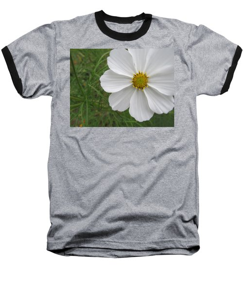 Baseball T-Shirt featuring the photograph White Beauty by Tina M Wenger