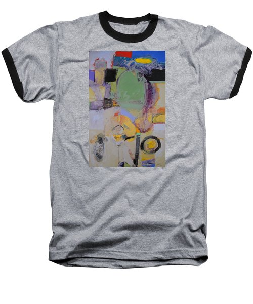 10th Street Bass Hole Baseball T-Shirt by Cliff Spohn