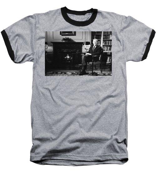 Jimmy Carter (1924- ) Baseball T-Shirt
