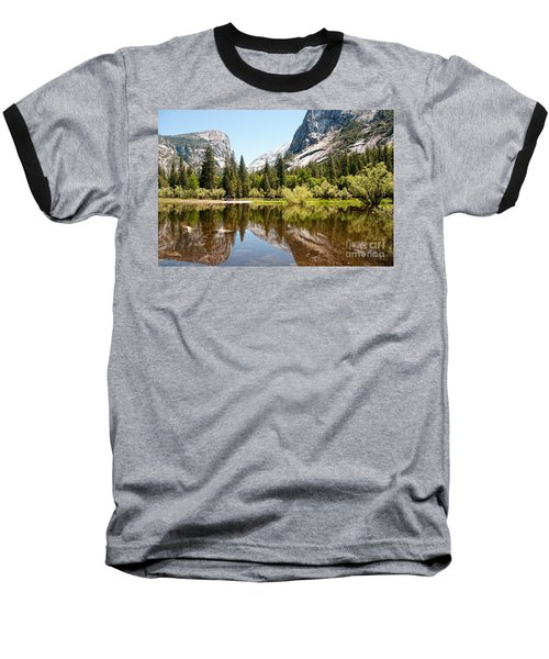 Yosemite Baseball T-Shirt by Carol Ailles