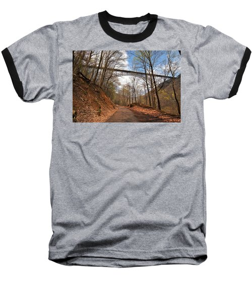 New River Gorge Bridge Baseball T-Shirt