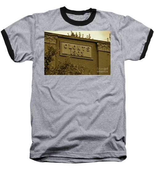 Baseball T-Shirt featuring the photograph 1903 by Carol  Bradley