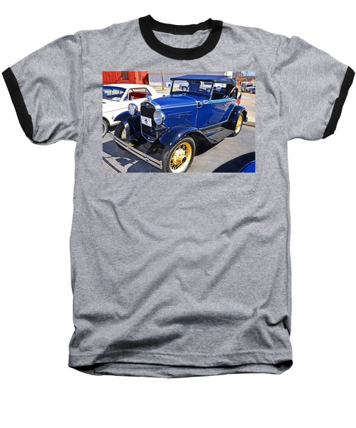Baseball T-Shirt featuring the photograph 1931 Ford by Paul Mashburn