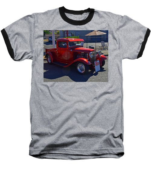 Baseball T-Shirt featuring the photograph 1932 Ford Pick Up by Tikvah's Hope