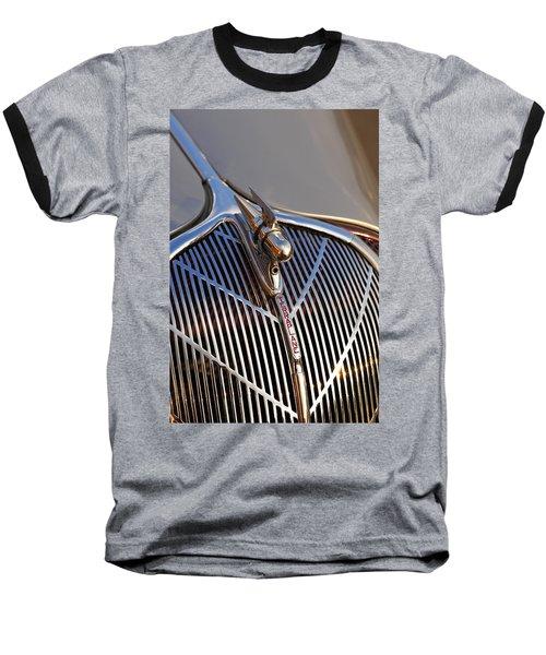 Baseball T-Shirt featuring the photograph 1936 Hudson Terraplane by Gordon Dean II