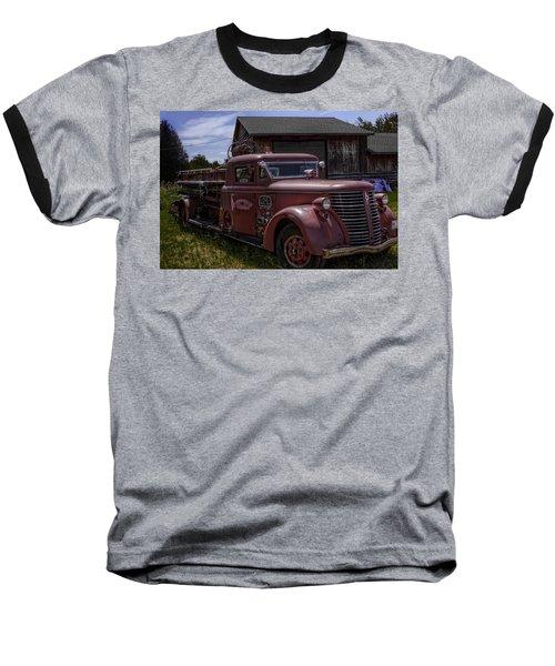 1939 American Lafrance Foamite Baseball T-Shirt