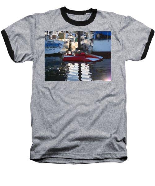 1950's Custom Hydroplane Baseball T-Shirt by Kym Backland