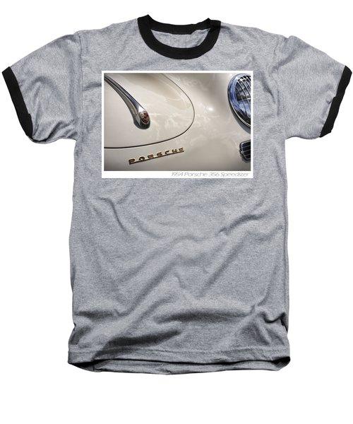 Baseball T-Shirt featuring the photograph 1954 Porsche 356 Speedster by Gordon Dean II