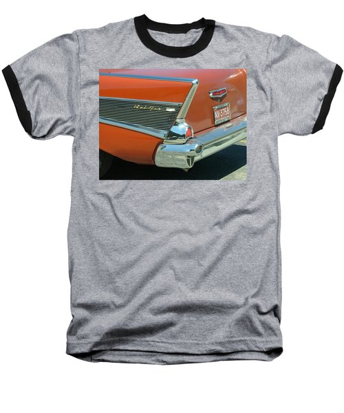 1957 Chevy Belair Baseball T-Shirt