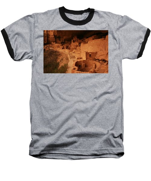Cliff Palace Mesa Verde National Park Baseball T-Shirt