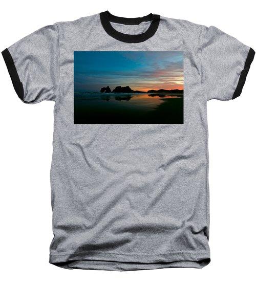 Golden Morning At A Beach  Baseball T-Shirt