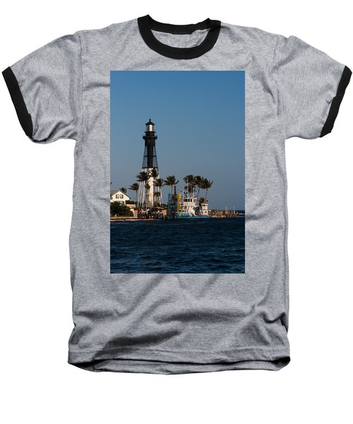 Hillsboro Inlet Lighthouse Baseball T-Shirt