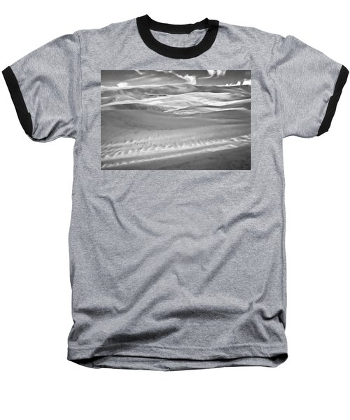 Land Meets Sky Baseball T-Shirt
