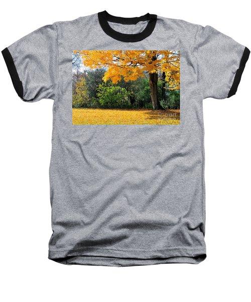 Baseball T-Shirt featuring the photograph Tree Of Gold by Joe  Ng