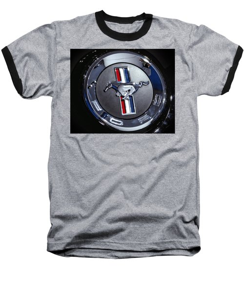 2012 Ford Mustang Trunk Emblem Baseball T-Shirt