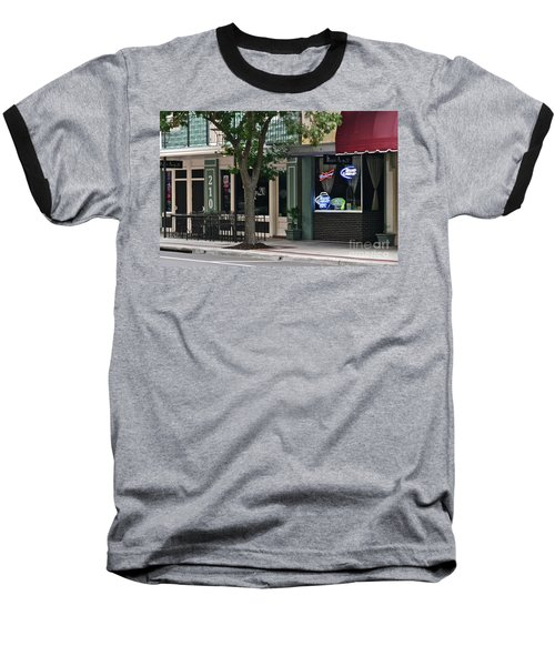 Baseball T-Shirt featuring the photograph 210 Pine Street by Carol  Bradley