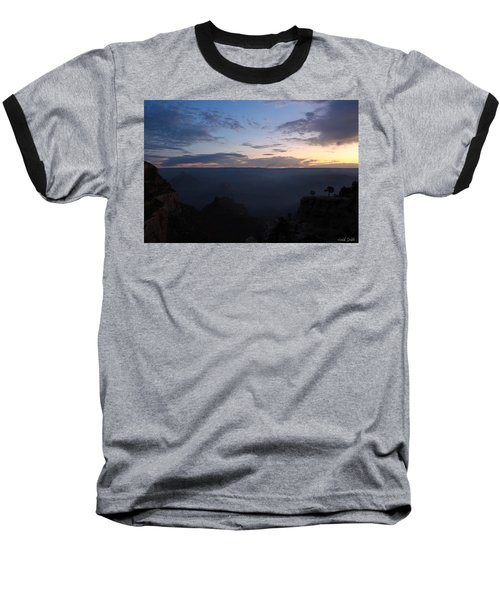 Baseball T-Shirt featuring the photograph 24 Minutes To Sunrise by Heidi Smith