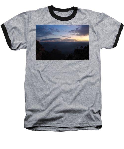 24 Minutes To Sunrise Baseball T-Shirt by Heidi Smith
