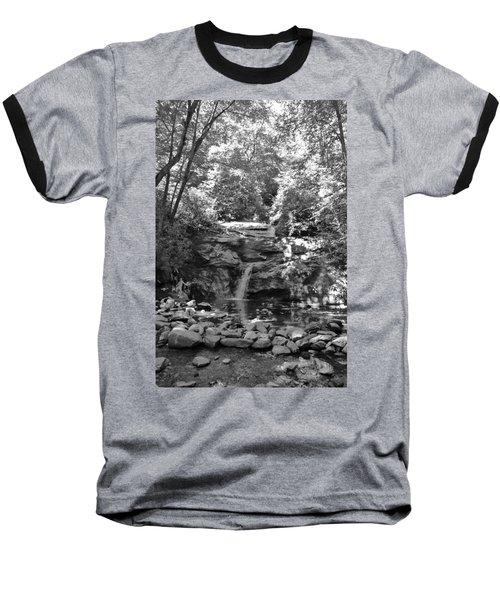 Set Rock Creek Falls Baseball T-Shirt by Joel Deutsch