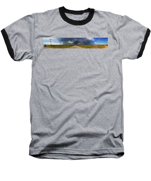 Baseball T-Shirt featuring the photograph 3x3 by Brian Duram