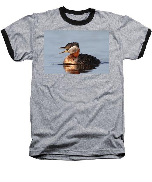 Rednecked Grebe Baseball T-Shirt