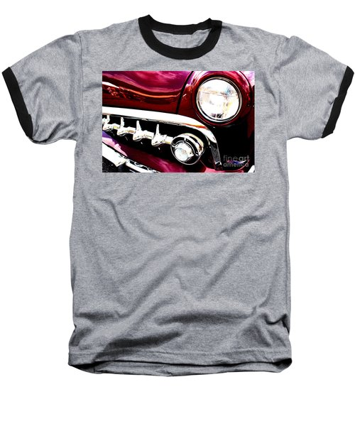Baseball T-Shirt featuring the digital art 49 Ford by Tony Cooper
