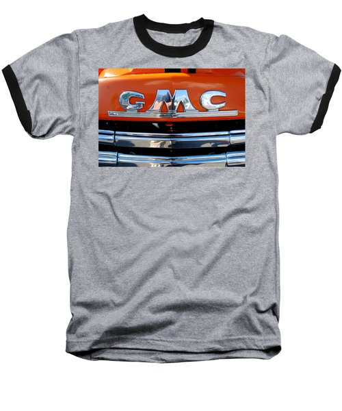 Baseball T-Shirt featuring the photograph '49 G M C by John Schneider