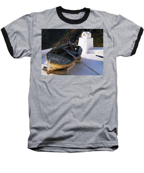 Baseball T-Shirt featuring the photograph Santorini Greece by Colette V Hera  Guggenheim