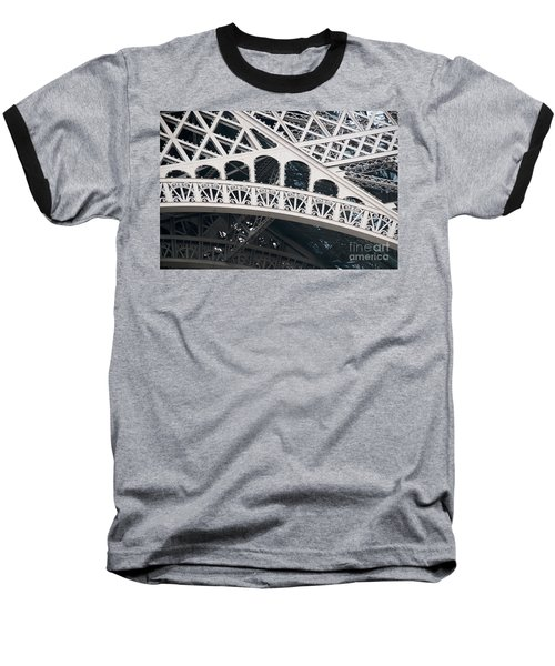 Paris Baseball T-Shirt by Carol Ailles