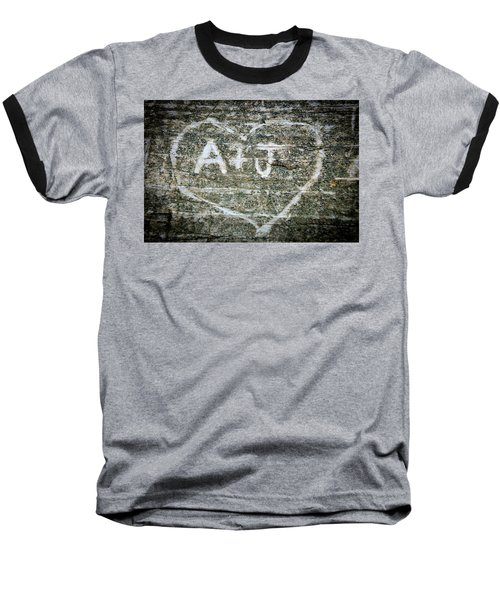 Baseball T-Shirt featuring the photograph A And J by Julia Wilcox