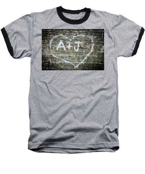 A And J Baseball T-Shirt