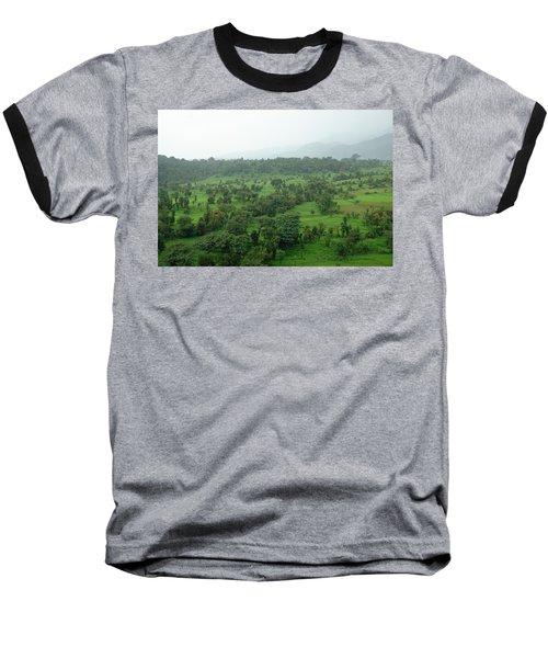 A Beautiful Green Countryside Baseball T-Shirt