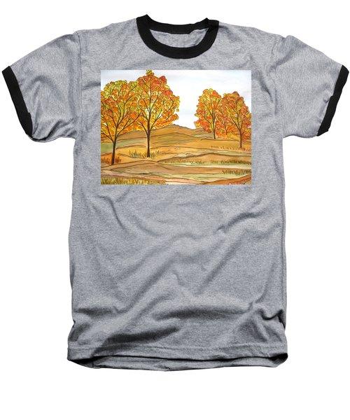 A Bit Of Fall Baseball T-Shirt