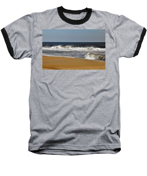 A Brisk Day Baseball T-Shirt by Sarah McKoy