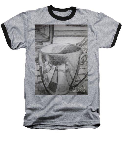 A Cup Of Reflections Baseball T-Shirt