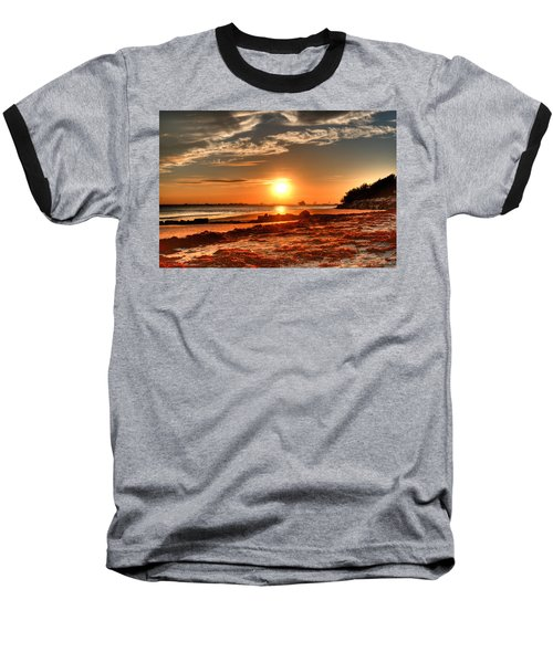 A Day Ends Over Charleston Baseball T-Shirt
