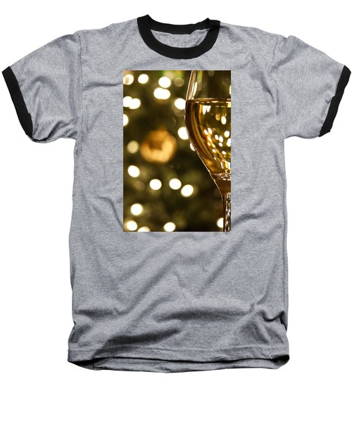 A Drink By The Tree Baseball T-Shirt