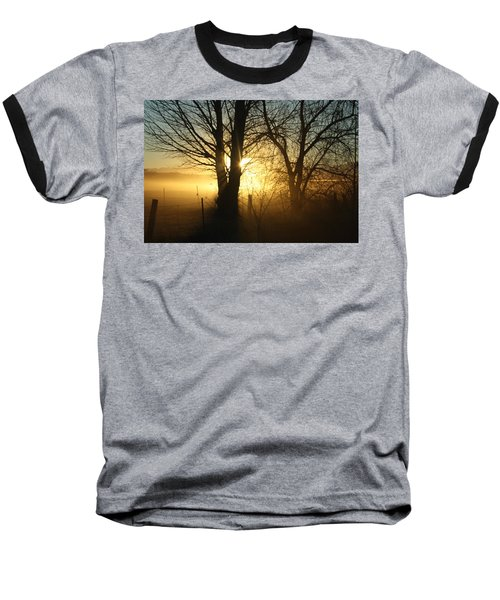 A Dusty Sunset Baseball T-Shirt