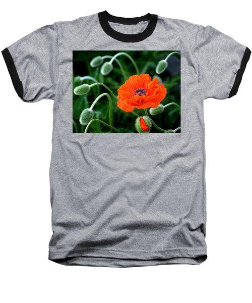 A Flower In Medusa's Hair Baseball T-Shirt