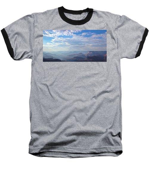 A Grand View Baseball T-Shirt by Heidi Smith