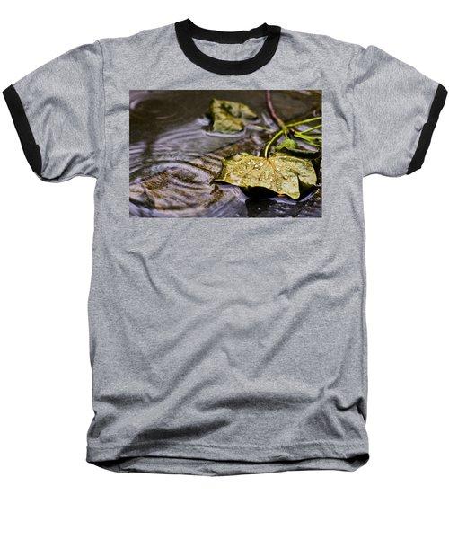 A Leaf In The Rain Baseball T-Shirt