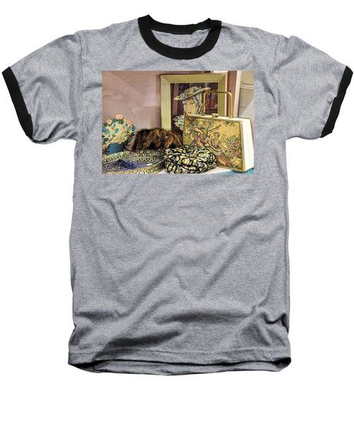 A Little Romance II Baseball T-Shirt by Jan Amiss Photography