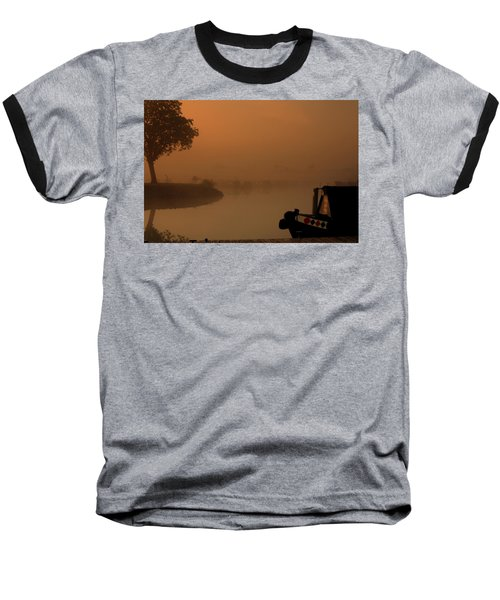 A Nice Place Baseball T-Shirt by Linsey Williams