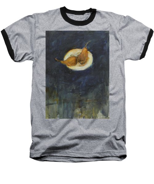 Baseball T-Shirt featuring the painting A Pair by Kathleen Grace