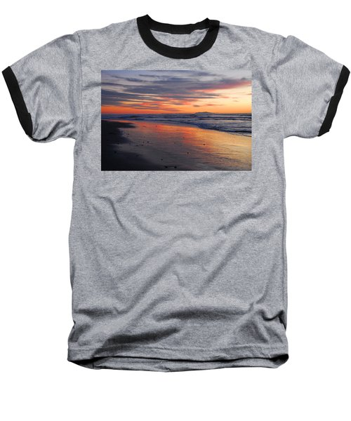 Baseball T-Shirt featuring the photograph A Passion For Purple by Lynn Bauer