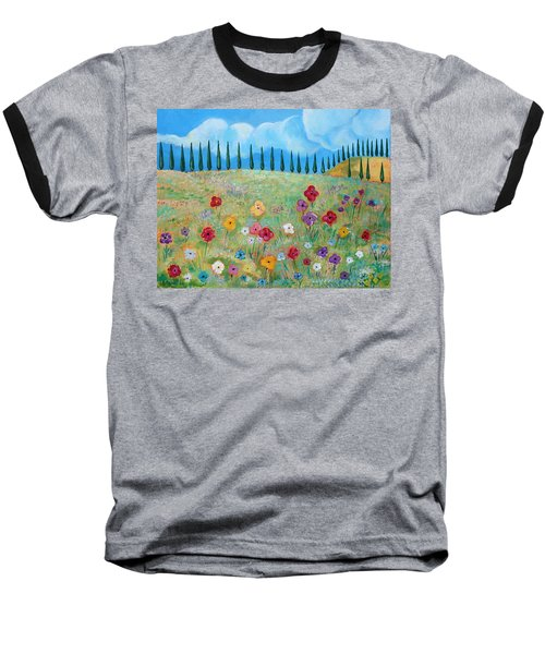 A Peaceful Place Baseball T-Shirt by John Keaton