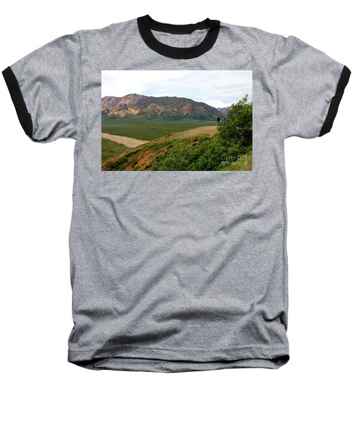 Baseball T-Shirt featuring the photograph A Photographer's Dream by Kathy  White